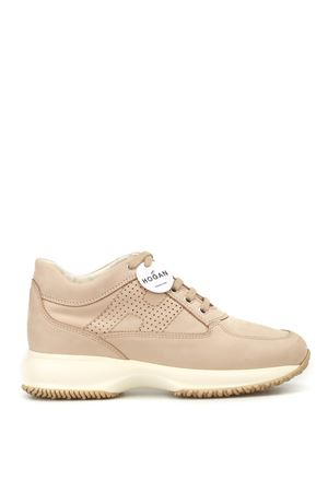 Perforated H Interactive nude shoes HOGAN scarpe | 120000001 | HXW00N00E30A8HC600