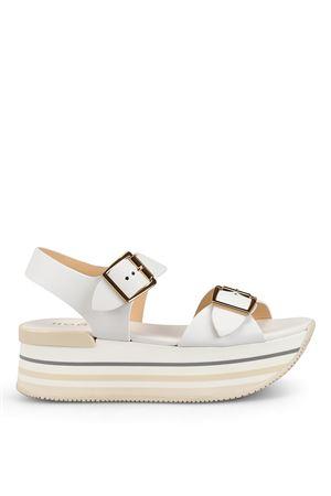 Maxi H222 white sandals HOGAN | 5032241 | HXW2940AA40IWEB001