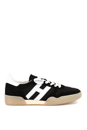 H357 suede and fabric sneakers HOGAN | 120000001 | HXW3570AC40KRF0002