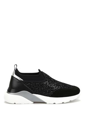Sneaker Active One glitterate nere HXW3850BN70KPR0353 HOGAN | 5032246 | HXW3850BN70KPR0353