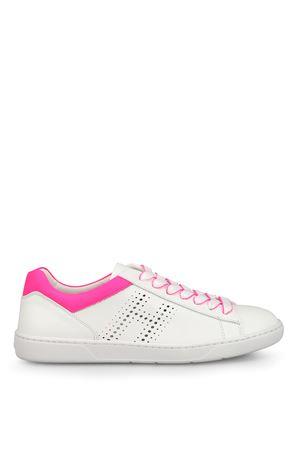 Sneaker R327 con tallone fluo HOGAN | 120000001 | GYW3270K360L6N3704
