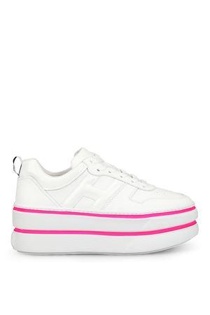 Sneaker H449 oversize in pelle bianca GYW4490BS00I6S9997 HOGAN | 120000001 | GYW4490BS00I6S9997