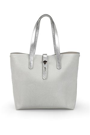 Laminated leather large shopping bag HOGAN | 5032266 | KBW010A1400KMKB200