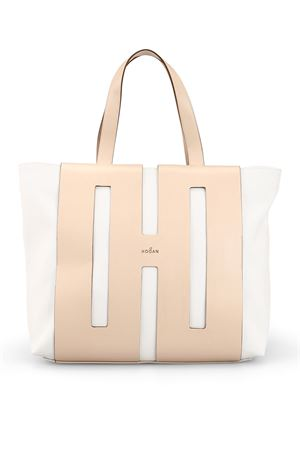 Canvas and cut-out leather Bi-Bag HOGAN | 5032266 | KBW015A0400KSUAO75