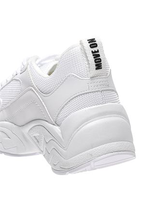 White leather and fabric sneakers  KENDALL + KYLIE | 12 | KKFOCUS516WHIFB