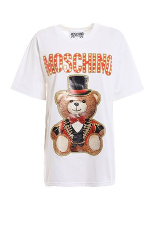 Teddy Circus white oversized T-shirt 