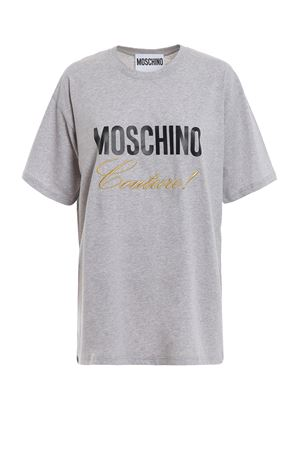 Moschino Couture! grey cotton T-shirt 
