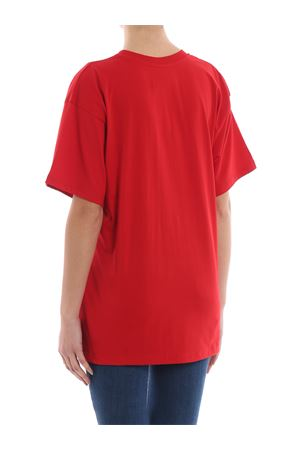 Embroidered logo red over T-shirt  MOSCHINO | 8 | 07110540J7115