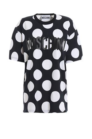 Logo print polka dot over T-shirt MOSCHINO | 8 | 07120540A4555