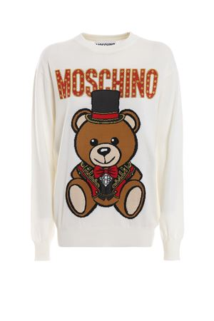 Teddy Circus off white wool sweater 