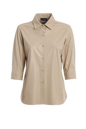 camicia pelle PAOLO FIORILLO CAPRI | 6 | 0176P29092 SABBIA