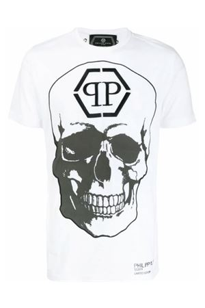 Philipp Plein white print T-shirt PHILIPP PLEIN   8   P19CMTK3282PJY002N01