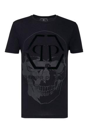T-shirt Platinum Cut Round P19CMTK3298PJY002N0202 PHILIPP PLEIN   8   P19CMTK3298PJY002N0202