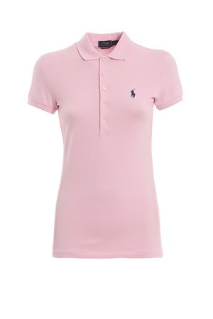 Slim fit pink cotton polo shirt POLO RALPH LAUREN | 7 | 211505654112