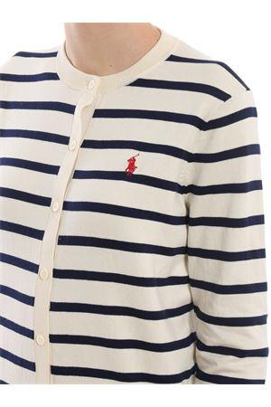Cotton blend striped cardigan POLO RALPH LAUREN | -108764232 | 211738057001