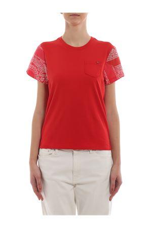 Paisley print sleeve T-shirt POLO RALPH LAUREN | 7 | 211744668001