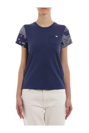 T-shirt con dettagli stampa paisley 211744668002 POLO RALPH LAUREN | 7 | 211744668002