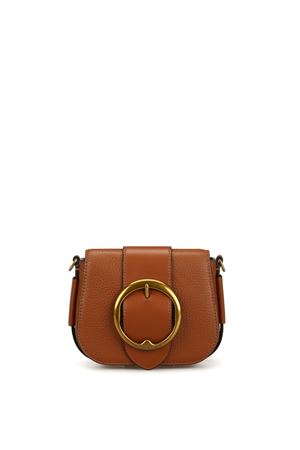 Lennox Mini brown leather shoulder bag 428722528002 POLO RALPH LAUREN | 70000001 | 428722528002