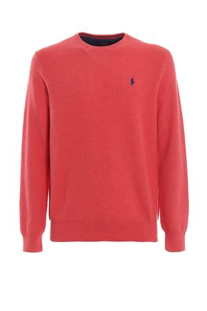 Pink Pima cotton crewneck