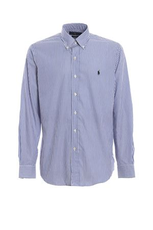 Blue stripe cotton shirt POLO RALPH LAUREN | 6 | 710705967009