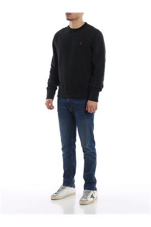 Black soft cotton blend classic sweatshirt POLO RALPH LAUREN | 7 | 710733123003