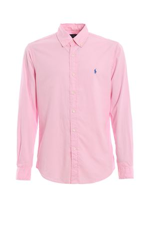 Pink cotton twill shirt POLO RALPH LAUREN | 6 | 710741788001