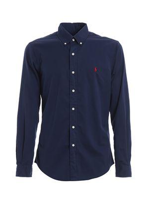Camicia in twill di cotone blu 710741788007 POLO RALPH LAUREN | 6 | 710741788007