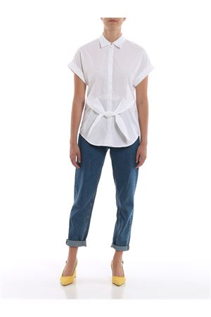 veanna-short sleeve-shirt RALPH LAUREN | 6 | 200747475001WHITE