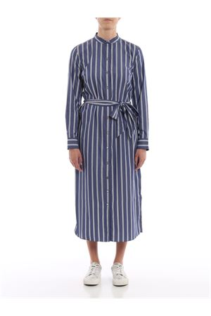 selam-longsleeve-casual dress RALPH LAUREN | 11 | 200751199001BLUE/WHITE