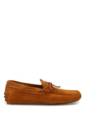 New Laccetto biscuit suede driver loafers 