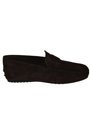 City Gommino suede loafers TOD