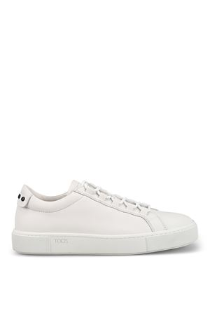 Gommini white leather low top sneakers TOD