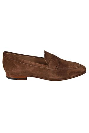 Brown suede classic loafers TOD