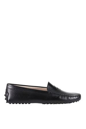 Mocassino in pelle nera Gommino XXW00G00010NB5B999 TOD