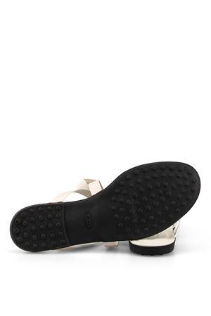 sandalo gomma fiocco TOD