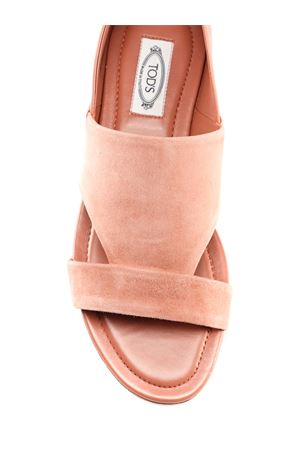 Pink suede and leather sandals XXW37B0AT70KPNM026