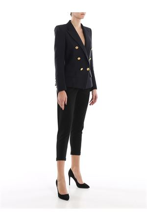 Gold tone button double-breasted blazer ALEXANDRE VAUTHIER | 3 | 201JA802BIS01921058BLACK