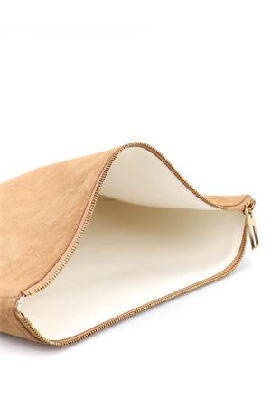 Pochette in pelle scamosciata POMPP013004107 BALMAIN | 10000014 | POMPP013004107