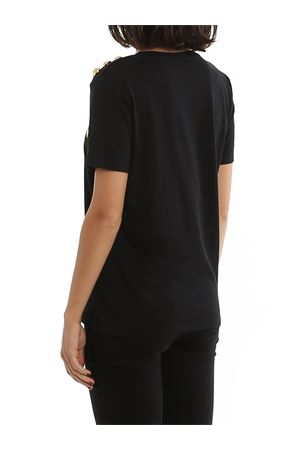 T-shirt nera in cotone TF01350I414EAD BALMAIN | 8 | TF01350I414EAD