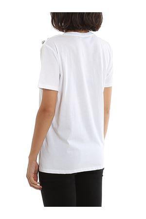 White cotton t-shirt BALMAIN | 8 | TF01350I414GAC