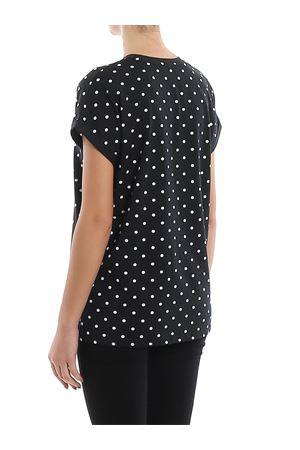 T-shirt a pois in cotone con logo TF11351I358EAB BALMAIN | 8 | TF11351I358EAB