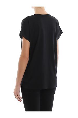 T-shirt nera in cotone con logo sul petto TF11351I382EAB BALMAIN | 8 | TF11351I382EAB