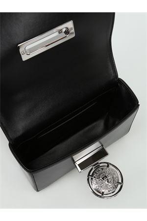 Clutch Baby Box in pelle e velluto W8FS155PVTC176 BALMAIN | 10000014 | W8FS155PVTC176