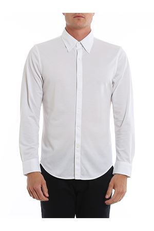 COTTON PIQUET WHITE SHIRT BROOKS BROTHERS | 6 | 00136112WHITE