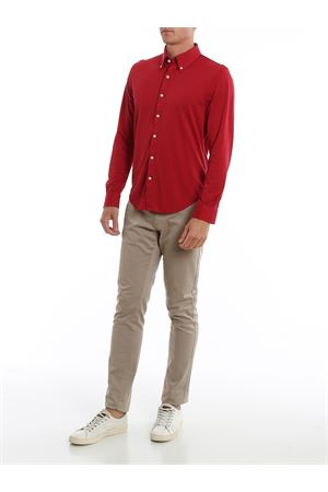 COTTON PIQUET RED SHIRT BROOKS BROTHERS | 6 | 00136574BRIGHTRED