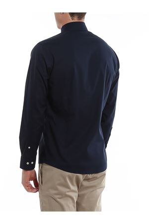 CAMICIA BLU IN COTONE CON LOGO 00160983NAVY BROOKS BROTHERS | 6 | 00160983NAVY