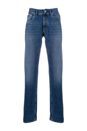 Jeans a gamba dritta con risvolto ME228D2220C1471 BRUNELLO CUCINELLI | 24 | ME228D2220C1471