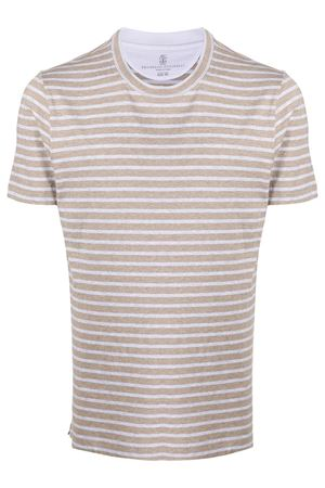 Crew neck t-shirt BRUNELLO CUCINELLI | 8 | MTS577423CW352