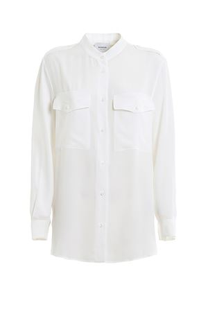 SILK BLEND SHIRT DONDUP | 6 | DC102SF0050DXXXDD000