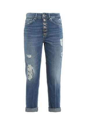 KOONS LOOSE FIT DISTRESSED JEANS DONDUP | 24 | DP268BDF0232DAC4DD800